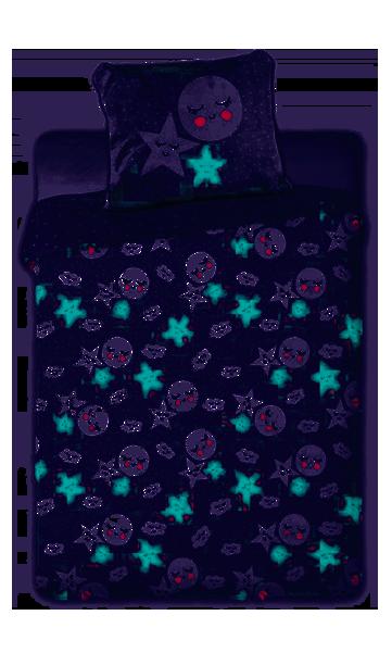 Faro Tuli Tuli Kokvilnas gultas veļas komplekts no 2 daļām 100x135