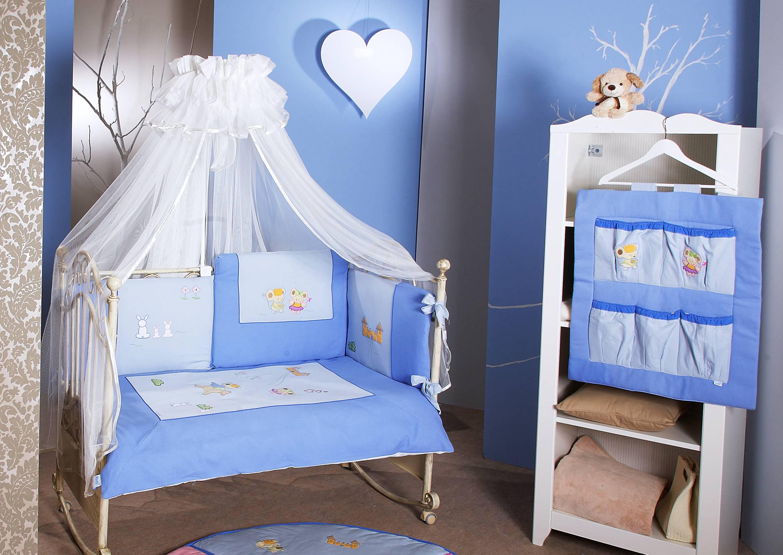 FERETTI Bērnu gultas veļas komplekts Romeo Blue Prestige TRIO 3