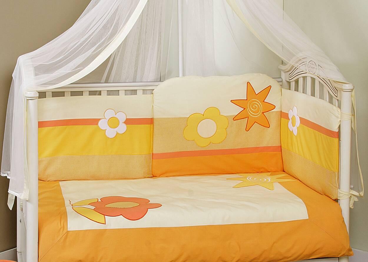 FERETTI Bērnu gultas veļas komplekts Sun Flower Premium DUETTO 2