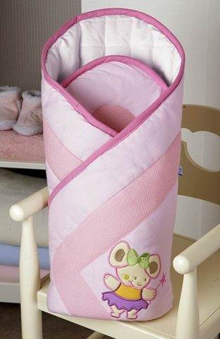 Feretti Layette 85 Juliet Pink Multifunkcionāls konvertiņš sedziņa
