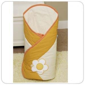 Feretti Layette Sun Flower Orange multifunkcionāls konvertiņš sedziņa