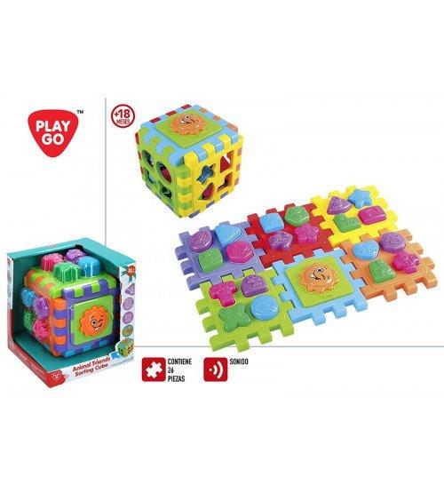 Figūru šķirotājs / sorteris Puzzle 18 men+ CB44882