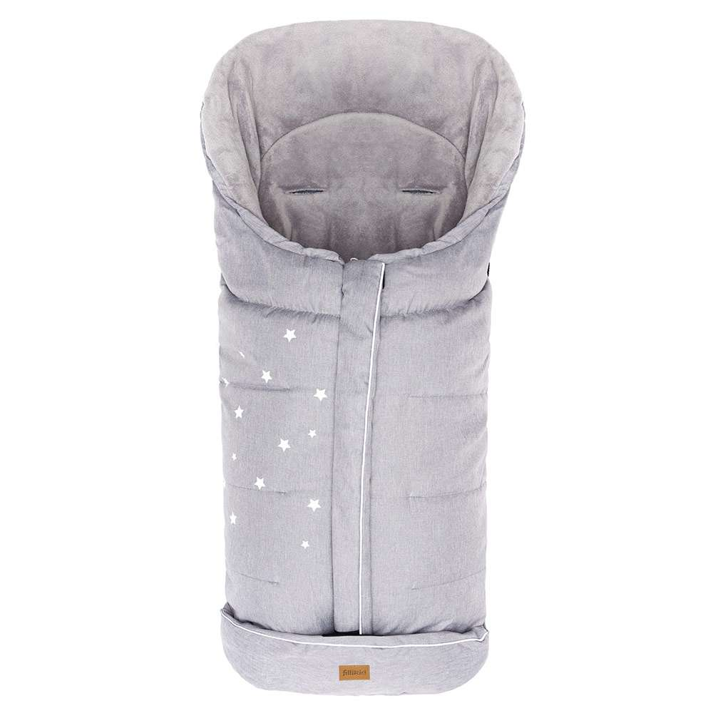 Fillikid Barodino Grey Melange Baby Sleeping Bag Bērnu Ziemas Siltais Guļammaiss 100х50