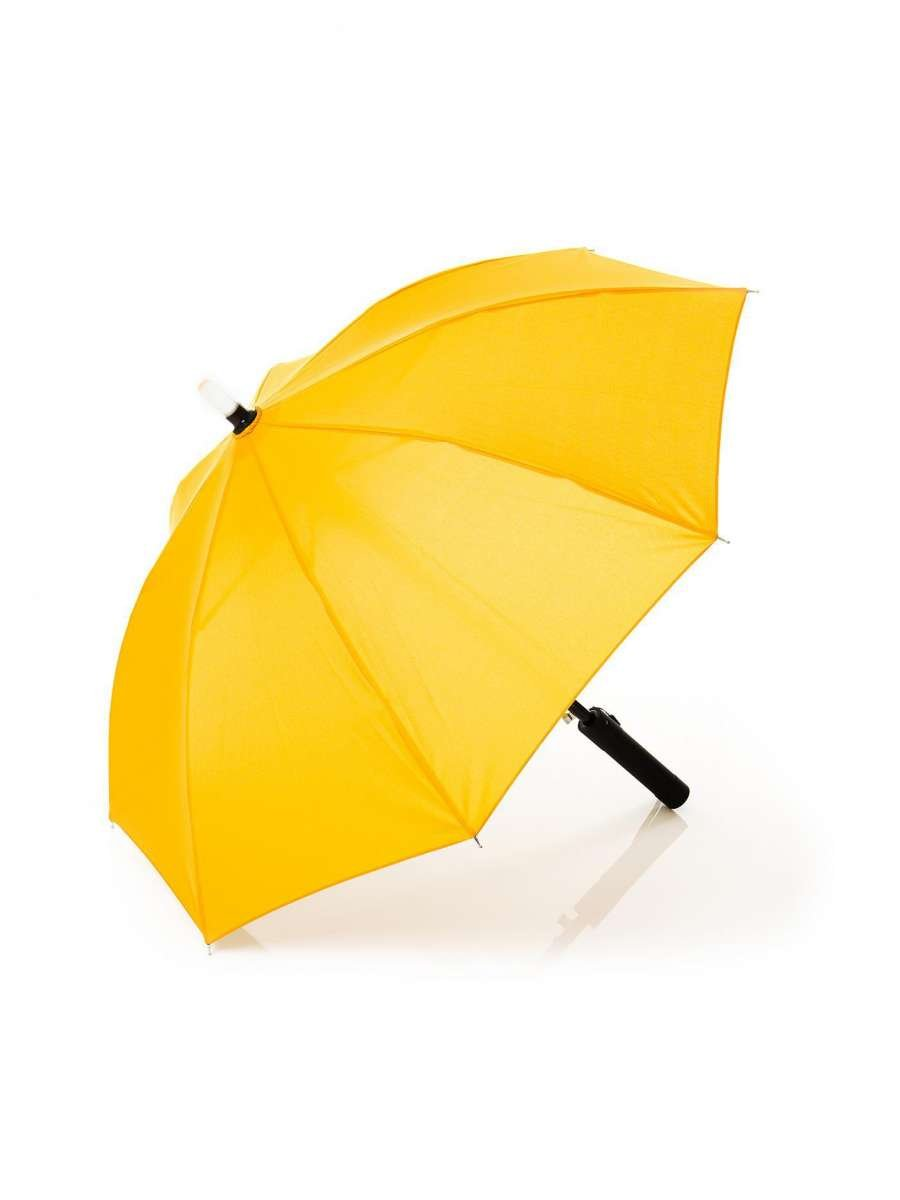 Fillikid Children's Umbrella Yellow Bērnu Lietussargs ar iebūvētu LED zibspuldzi