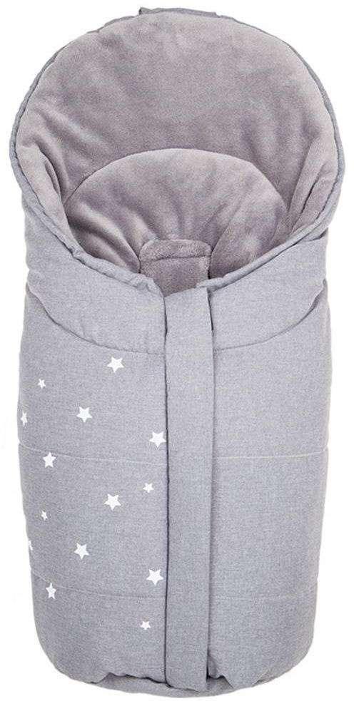 Fillikid Sleeping Bag Askja Grey Melange Bērnu ziemas siltais guļammaiss 85x40 cm