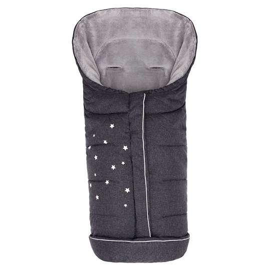 Fillikid Sleeping Bag Big Askja Black Bērnu ziemas siltais guļammaiss 100x50 cm