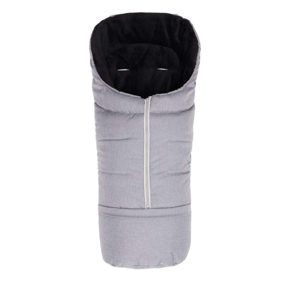 Fillikid Sleeping Bag Mellange Grey Bērnu ziemas siltais guļammaiss 100x45 cm