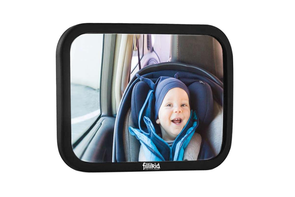 Fillikid Spogulis Bērna novērošanai automašīnā (regulējamais)