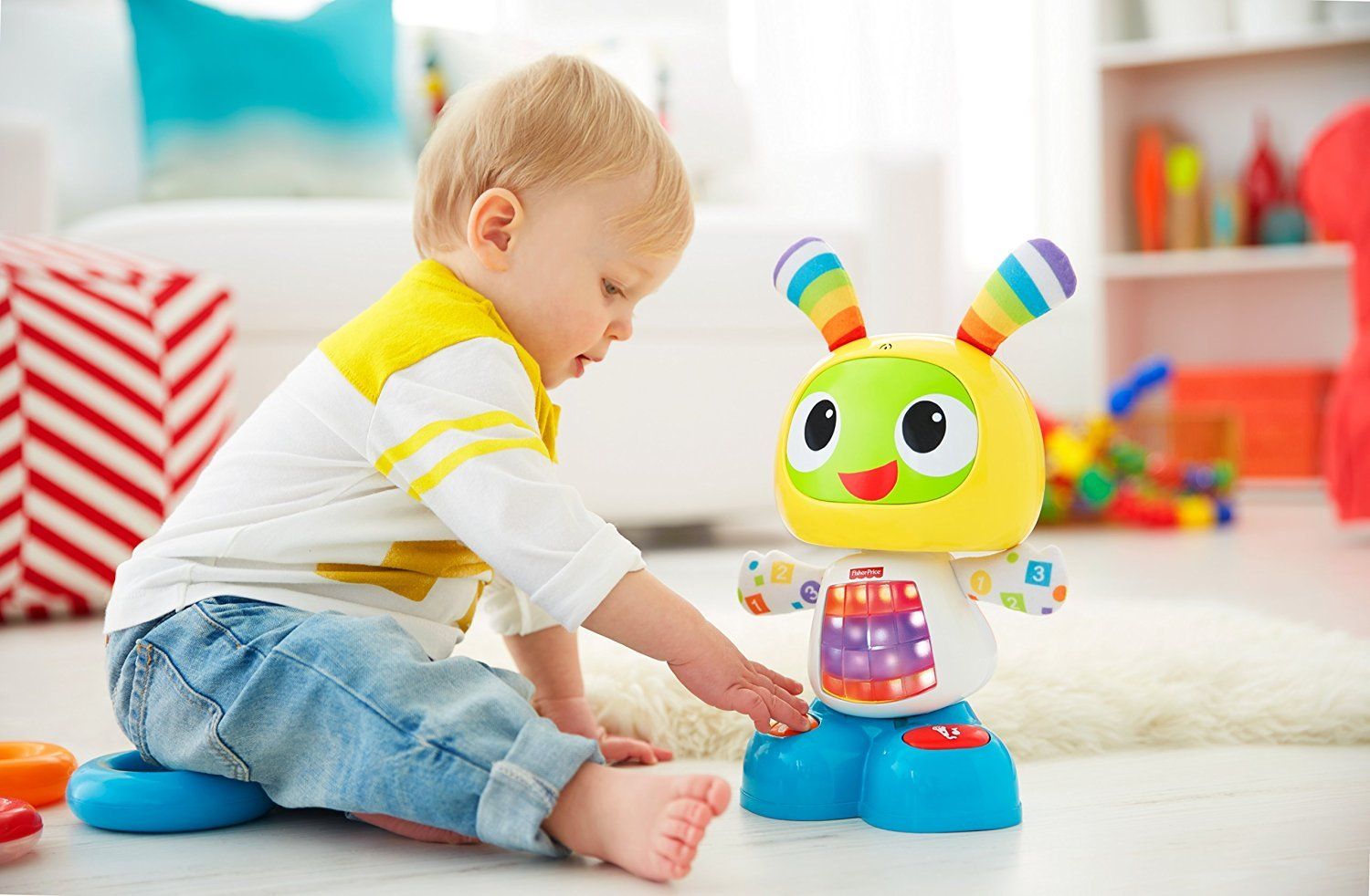 Fisher Price Bright Beats Dance & Move BeatBo DJX26 Interaktīva rotaļlieta (krievu.val)