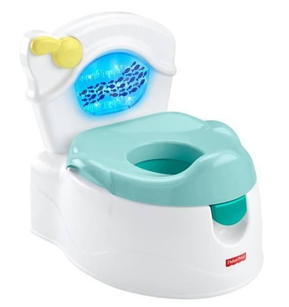 Fisher Price Sea Me Flush Potty Bērnu podiņš ar skaņu un gaismu 46265