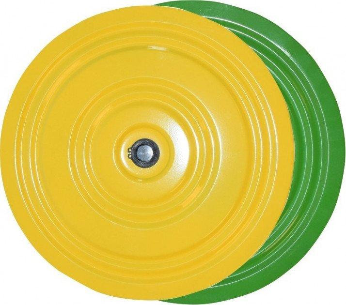 Fitness disks no metāla Igora Yellow-green