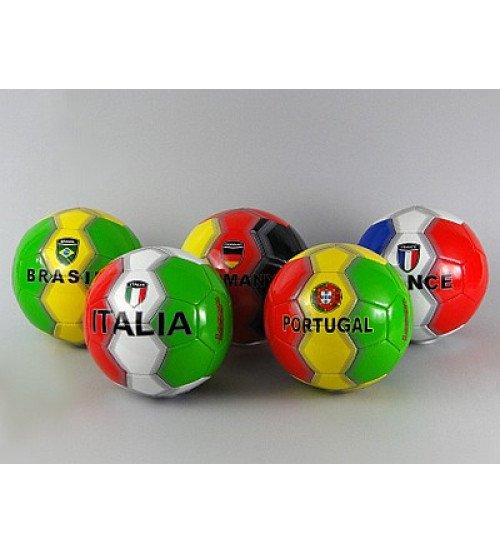 Futbola bumba Valsts karogi bērniem 437166 dažādas krāsas
