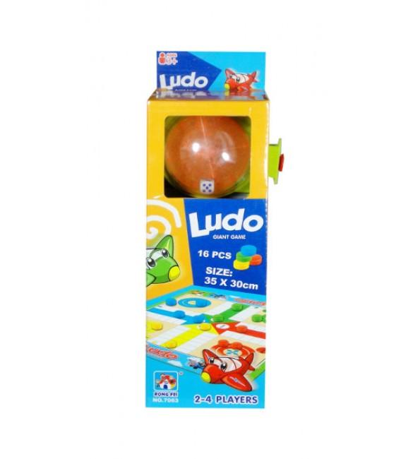 Galda spēle LUDO 10x27x7cm G2449