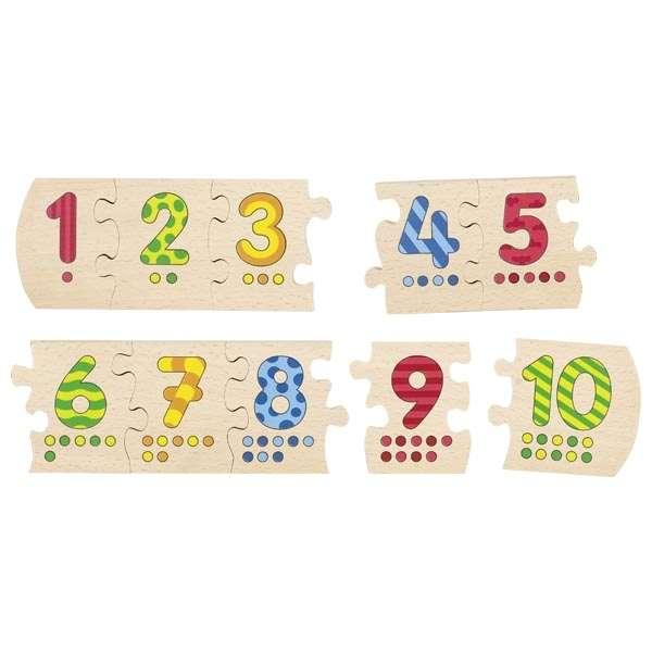 Goki Number Puzzle Cipari 1-10