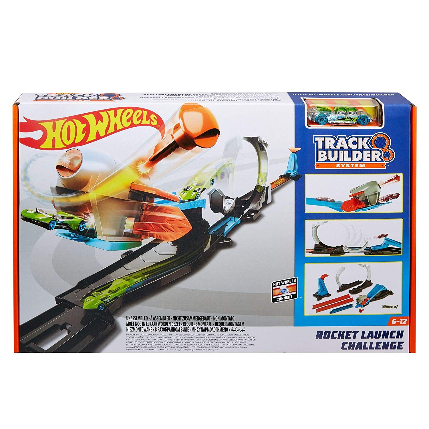 Hot Wheels Blast Off Challenge FLK60