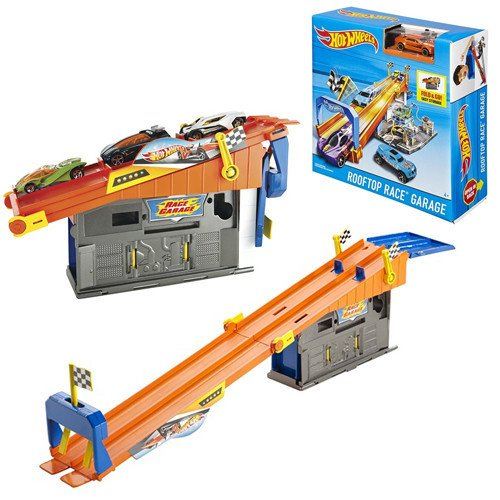 Hot Wheels Rooftop Race Garage DRB29