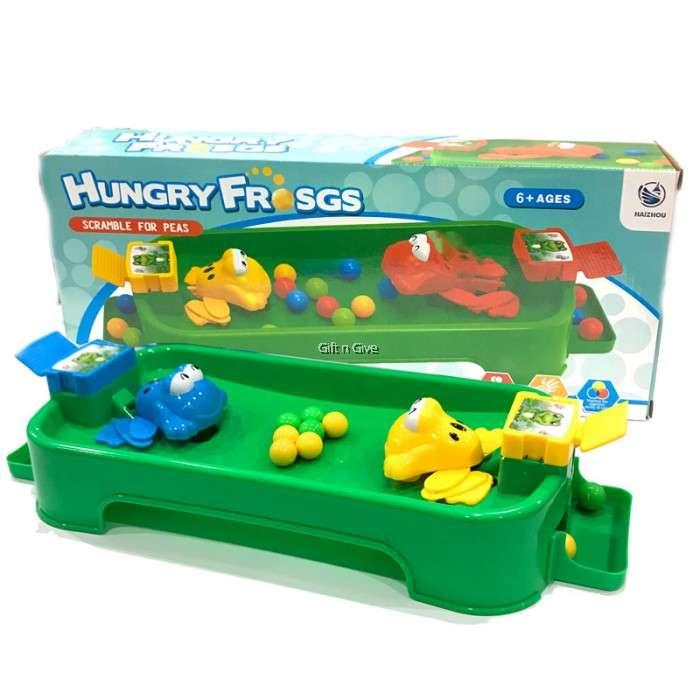 Hungry frog Izsalcis varde