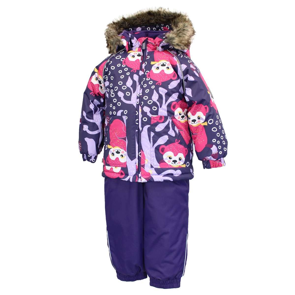 Huppa'21 Avery Silts mazuļu ziemas termo kostīms jaka + bikses