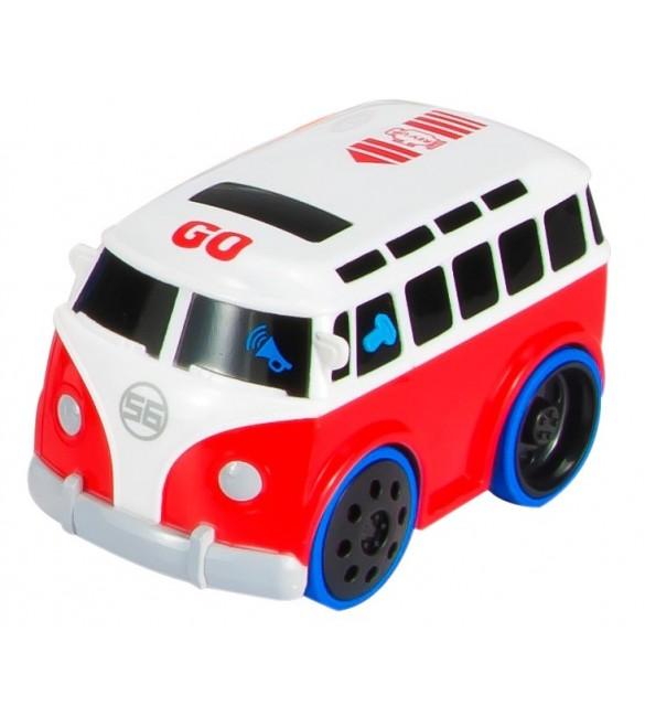 Interaktīvais autobuss ar dzinēja skaņu SunBaby B12.034.1.1