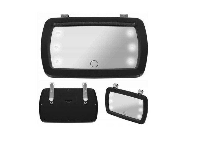 Iso Trade Atpakaļskata bērnu auto spogulis ar LED