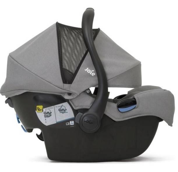 Joie I-Gemm Grey Flannel Bērnu autosēdeklis 0-13 kg