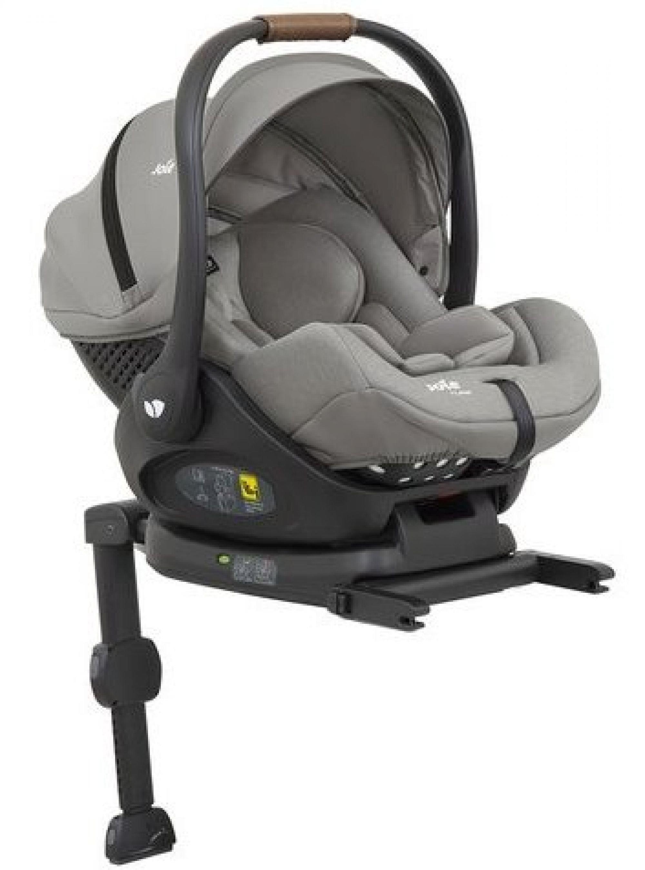 Joie I-Level Grey flannel Bērnu autosēdeklis 0-13 kg + Isofix bāze