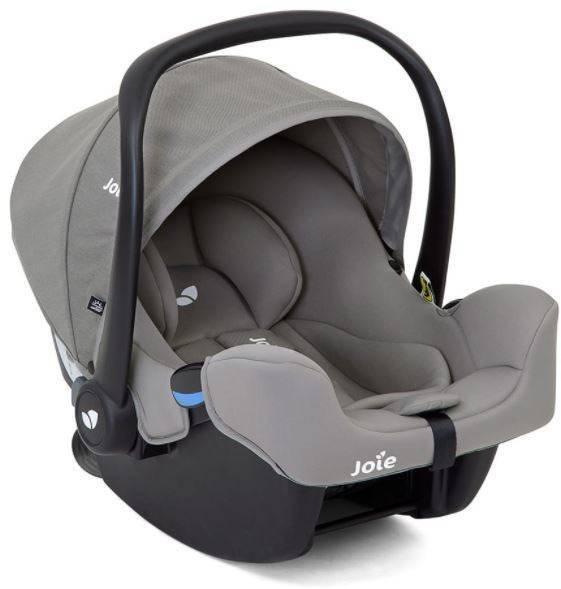 Joie I-Snug Grey flannel Bērnu autosēdeklis 0-13 kg