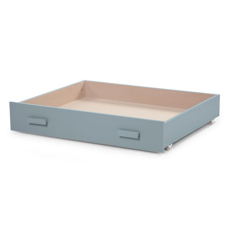 Kaste gultas veļai CHILDHOME Drawer for Playpen jade green 94