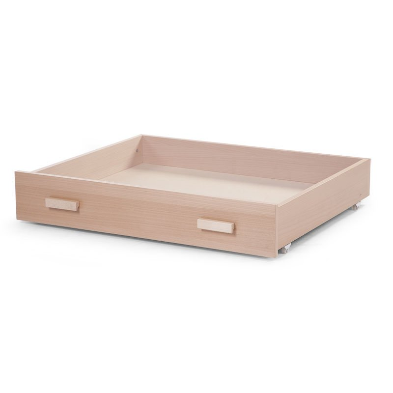 Kaste gultas veļai CHILDHOME Drawer for Playpen naturel 94