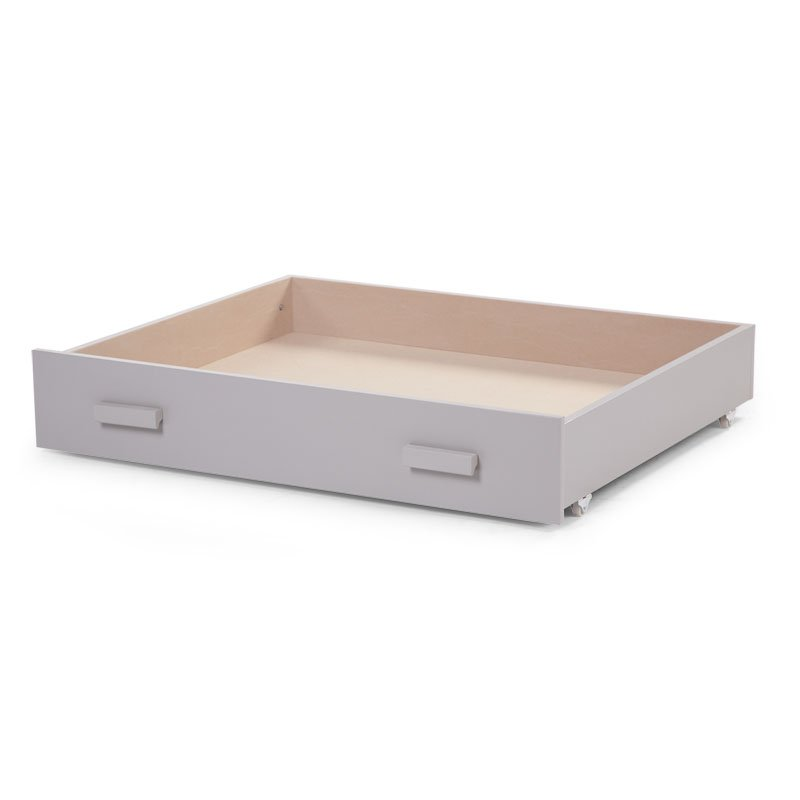 Kaste gultas veļai CHILDHOME Drawer for Playpen stone grey 94