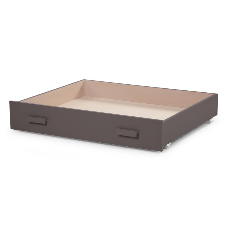 Kaste gultas veļai CHILDHOME Drawer for Playpen warm grey 94