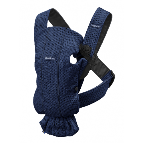 Ķengursoma BabyBjorn Baby Carrier Mini NAVY BLUE 3D Mesh