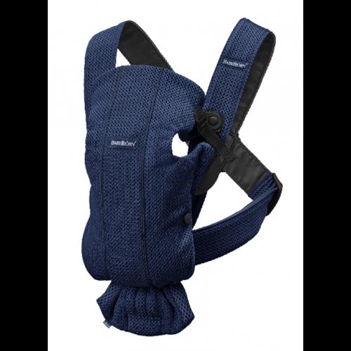 Ķengursoma BabyBjorn Baby Carrier Mini NAVY BLUE 3D Mesh