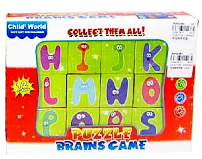 Kidi Play Bērnu attīstoši klucīši (12 elementi)
