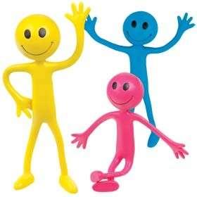 Kids Krafts Bendy man Paklausīga rotaļlieta Cilvēciņš