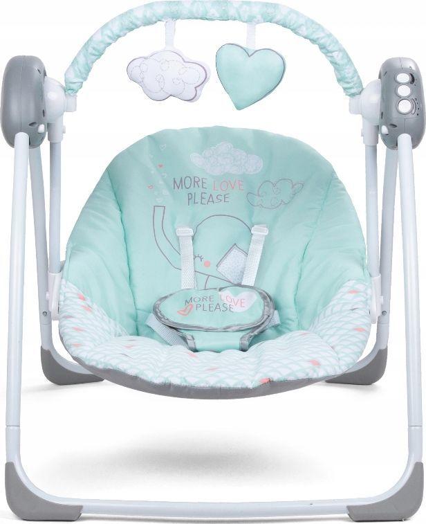 Kidwell Lupo Birch Mint Šūpuļkrēsls