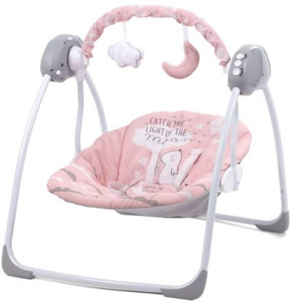 Kidwell Lupo Pink Šūpuļkrēsls