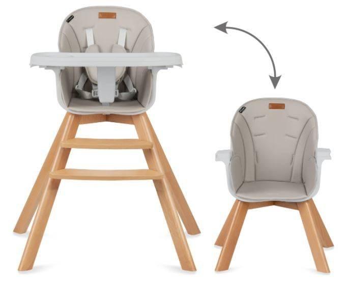 Kidwell Nobis 2in1 Beige Barošanas krēsls