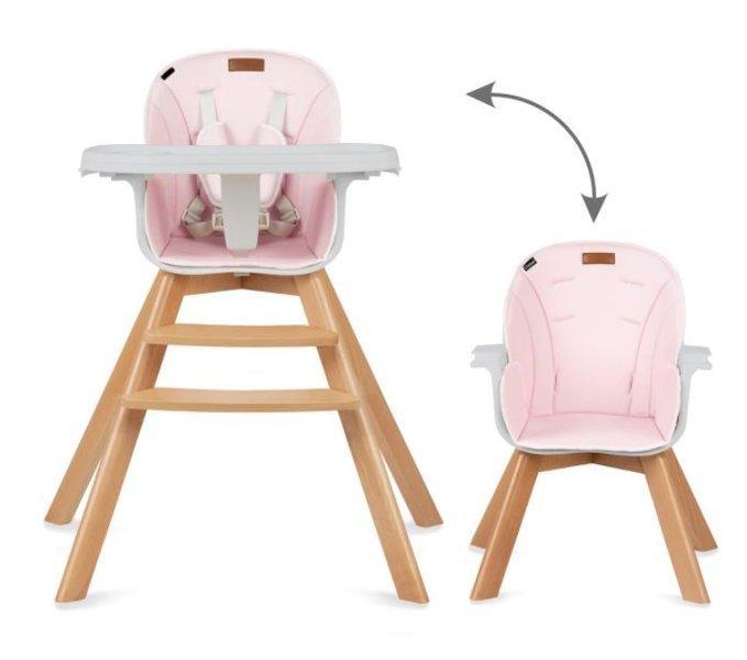 Kidwell Nobis 2in1 Pink Barošanas krēsls