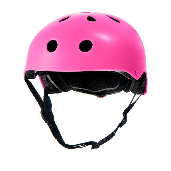 KinderKraft'18 Safety Pink Certificēta, regulējama ķivere bērniem (48-52)