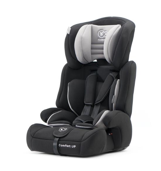 Kinderkraft Comfort Up Black Bērnu autosēdeklis 9-36 kg
