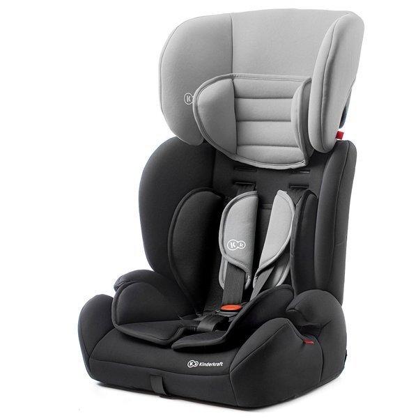 Kinderkraft Concept Black Grey Bērnu autosēdeklis 9-36 kg