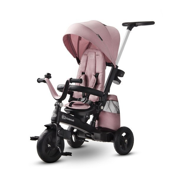Kinderkraft EASYTWIST 3in1 Marvelous pink Bērnu trīsritenis