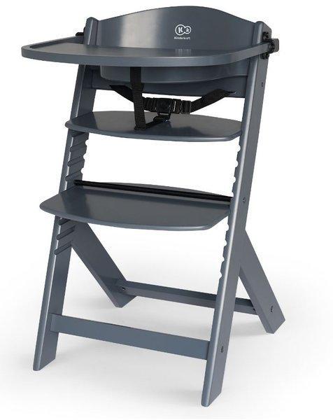 Kinderkraft Enock Grey 3in1 Barošanas krēsliņš