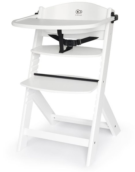 Kinderkraft Enock White 3in1 Barošanas krēsliņš