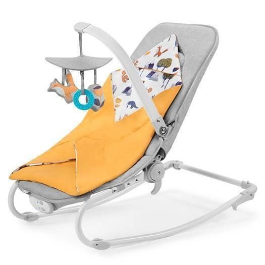 Kinderkraft Felio Forest Yellow 2020 Šūpuļkrēsls