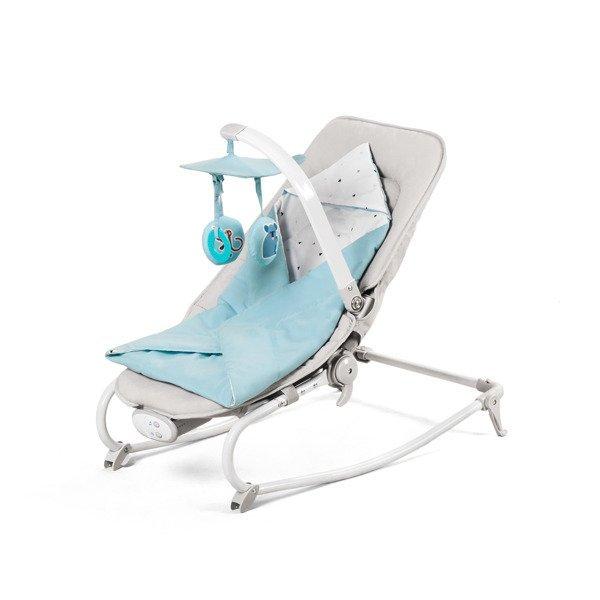 Kinderkraft Felio Light Blue Šūpuļkrēsls