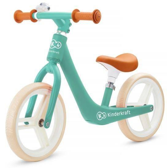 Kinderkraft Fly Plus Green skrejritenis ar metālisku rāmi