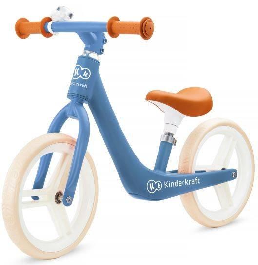 Kinderkraft Fly Plus Saphire Blue skrejritenis ar metālisku rāmi