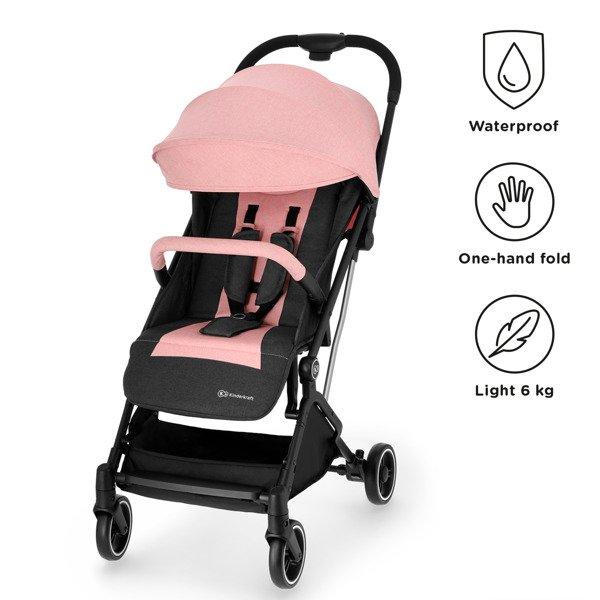 Kinderkraft Indy Pink Sporta rati